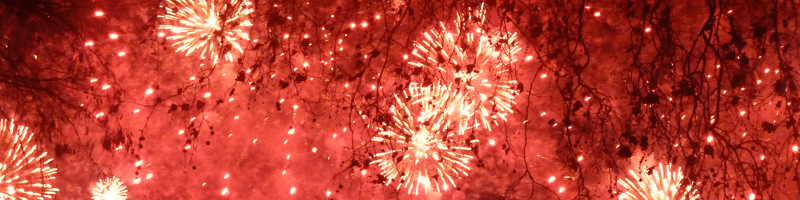 Fireworks New Year