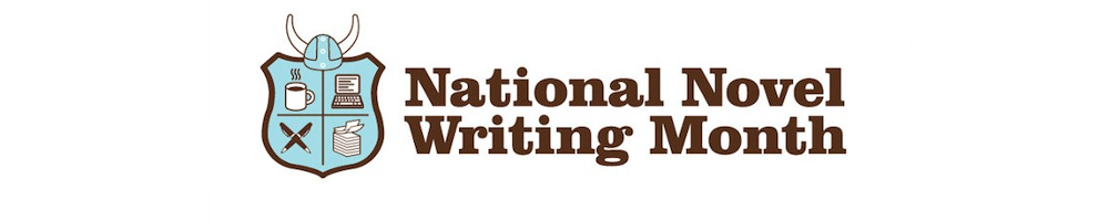 National Novel Writing Month Banner